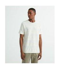 camiseta comfort lisa com textura | marfinno | rosa | eg i