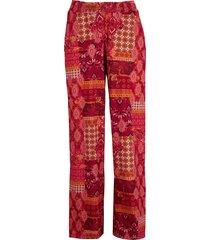 pantaloni a palazzo con spacchi laterali (rosso) - bpc bonprix collection