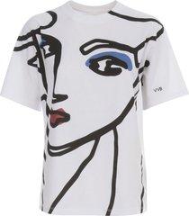 victoria beckham beauty face t-shirt