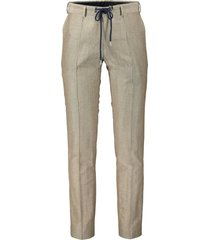 nils mix & match pantalon - slim fit - beige