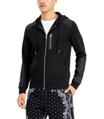 inc men's ponte knit hoodie, created for macy's