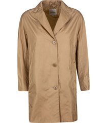 aspesi mid-length buttoned jacket