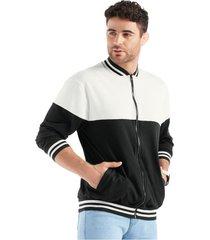 chaqueta adulto masculino bicolor marketing  personal