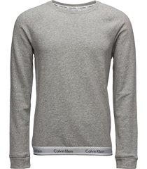 sweatshirt sweat-shirt trui grijs calvin klein