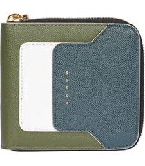 marni squared wallet