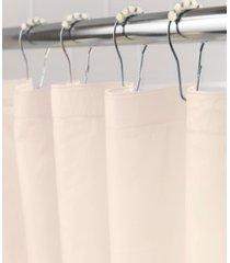 medium weight peva shower curtain liner and beaded roller ring set bedding