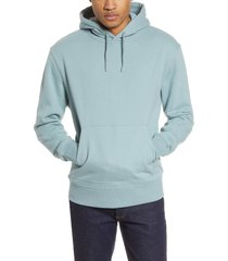 men's topman oversize hooded sweatshirt, size xx-large - green