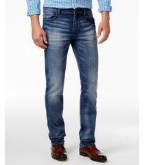william rast men's straight-fit hixson stretch jeans