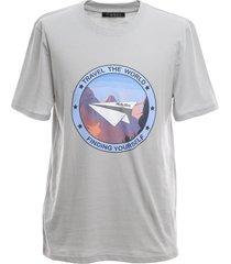 regular t-shirt with statement print
