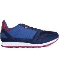 zapatilla azul topper t700