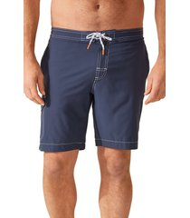 tommy bahama baja harbor solid board shorts, size xx-large in ocean deep at nordstrom