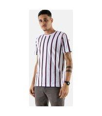 camisa t-shirt listrada rioutlet branca 239