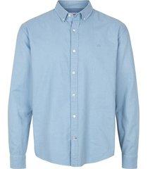 kronstadt overhemd heren johan oxford washed ks2796 light blue