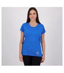 camiseta errea creponada feminina azul