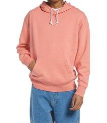 men's bp. fleece hoodie, size small - pink