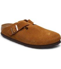 boston soft footbed slippers tofflor brun birkenstock