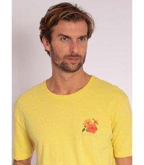 camiseta aleatory estampada flower - masculina - masculino