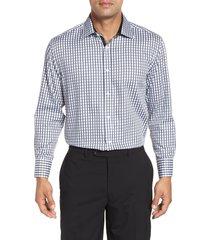 men's english laundry regular fit check dress shirt