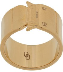 1017 alyx 9sm wide buckle ring - gold