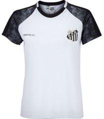 camiseta do santos climber - feminina - branco