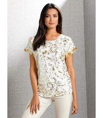 shirt amy vermont offwhite::goudkleur