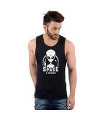 regata masculina algodão et alien space legend