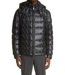 men's valentino vltn times men's puffer coat, size 46 - black