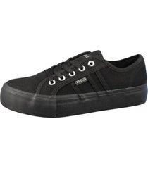 zapatilla escolar negra fagus