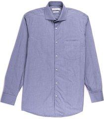 camisa formal con textura silueta slim fit para hombre 92590