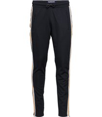 lineman slim sprint jogger sweatpants mjukisbyxor blå superdry
