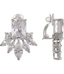 nina cubic zirconia cluster clip earring