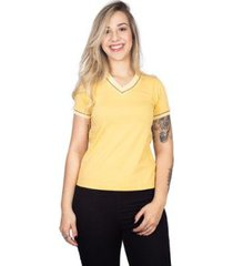 camiseta 4 ás sanfonada feminina - feminino