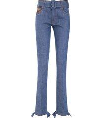 prada ruffled jeans