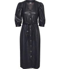 nmanny s/s polyurethane long dress