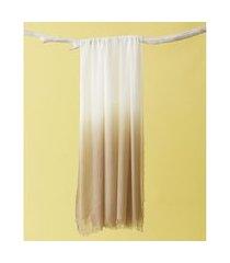 lenço em modal - lenço china cor: cáqui - tamanho: único