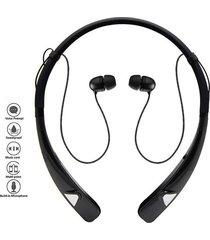 audífonos inalámbricos, auriculares audifonos bluetooth manos libres  auriculares inalámbricos con cuello de manos estéreo con manos libres cancelación de ruido con micrófono (negro)