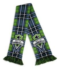 ruffneck seattle sounders tartan scarf