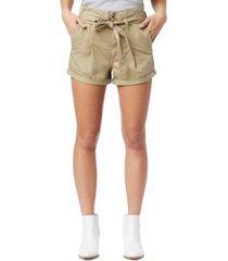 sam edelman cuffed belted utility shorts