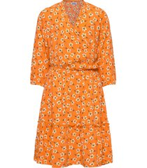 iluna dress klänning orange costbart