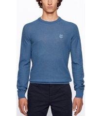 boss men's amador regular-fit knitted sweater