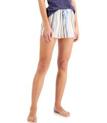 jenni cotton pajama shorts, created for macy's