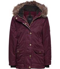 nkfsnow10 jacket 2fo parka-jas paars name it