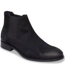 biabyron leather chelsea shoes chelsea boots svart bianco