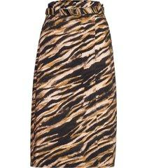 felinegz skirt ao20 knälång kjol multi/mönstrad gestuz
