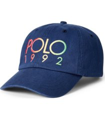 polo ralph lauren men's polo 1992 chino ball cap