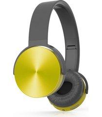 audífonos bluetooth estéreo hd manos libres inalámbricos, lc9200 estéreo inalámbrico audifonos bluetooth manos libres  extra profunda bajo sonido plegable auriculares (amarillo)