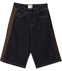 fendi bermuda shorts fendi kids