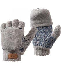 guantes mini nordic glove mitts gris lippi