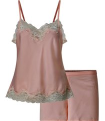 pyjamas lrl signature lace cami top set