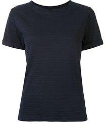 a.p.c. ribbed t-shirt - blue